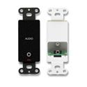 RDL DB-MJPT Mini-jack pass-through plate