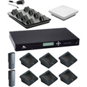 Revolabs Executive Elite GSA Compliant 8 Channel Wireless Conference System with 6 Directional & 2 Wearable Microphones