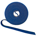 Rip-Tie W-15-1RL Wrap Strap - 1/2 Inch by 15 Feet - Blue