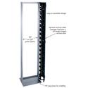 Middle Atlantic RLA19-1245B 19 Inch Aluminum Open Frame Rack - 45 Space