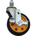 4 Inch G-Force Caster with Brake (for R2 & R6)