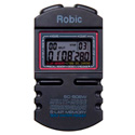 Robic SC-505 Multi Mode Chronograph With NO BEEP - Black