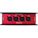 Rat Sound CAT Snake FX 100014 Four Female XLR Stagebox with Main and Parallel EtherCON Connectors