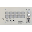 RTS WMS300L A5F 2 Channel Wall Mount User Station with Dynamic Mic Input