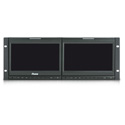 Ruige TLS900HD-2 - 4RU 2x 9in LCD Monitor CV - HDMI - Y/Pr/Pb - HD/SDI - Speaker