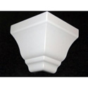 Raceway Crown CCEZKS-1 5-3/4 Inch Classic Colonial Profile Outside 90 Degree Corner - for Cable Raceways