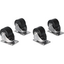 Chief NAC25H 2.5in Heavy Duty Rack Casters -  for E1 - S1 - G1 Racks