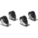 Raxxess NAC25H 2.5in Heavy Duty Rack Casters -  for E1 - S1 - G1 Racks