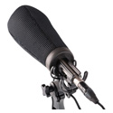Rycote 033202 15cm Super-Softie (19/22) Premium push-on Windshield with 3D-Tex
