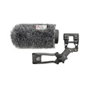 Rycote 033332 12cm Classic Softie Kit (19/22) with Duo-Lyre Mount & Pistol Grip