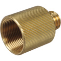 Rycote 047302 5/8 Inch Female to 3/8 Inch Male Brass Stand Adaptor