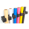 Savage TPC12 - Background Paper Roll Storage - 1 Pair - Holds 12 Rolls