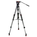 Sachtler 0475 FSB 6/Mid Level Spreader/Speed Lock 75CF Tripod System