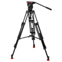Sachtler 0778 Aluminum Tripod System with FSB 8 Head ENG 75/2 D HD Legs & Mid-Level Spreader