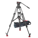 Sachtler System FSB 10 ENG 2 MCF FSB 10 Fluid Head (S2045-0001) Tripod ENG 2 CF (5386) Mid-Level Spreader 100/150 (7007)