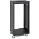 Samson SRK21 21-Space 18-Inch Deep Universal Equipment Rack with Casters