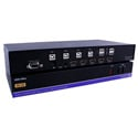 Smart AVI HDN-4PLUS 4-Port HDMI KVM Switch with 4K Ultra HD & USB 2.0 Sharing