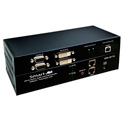 Smart-AVI SDX-2PS HDBaseT Dual DVI-D / USB 1.1 / RS232 & Audio Extender