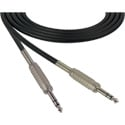 Canare Star-Quad Cable 1/4-Inch TRS Male to Male 6 Foot - Black