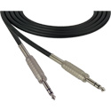 Canare Star-Quad Cable 1/4-Inch TRS Male to Male 15 Foot - Black
