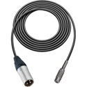 Canare Star-Quad Cable XLR Male to 3.5mm TRS Female 100 Foot - Black