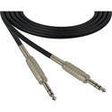 Canare Star-Quad Cable 1/4-Inch TRS Male to Male 3 Foot - Black