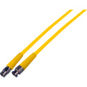 HD-SDI Premium BNC Male to F Male Video Cable 3 Ft Yellow
