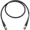Canare L-5CFW HD-SDI / SMPTE 424M RG6 BNC Cable - 50 Foot Black