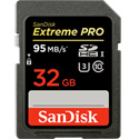 SanDisk 32GB Extreme Pro Flash Memory Card  (SDHC) Card