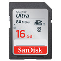 SanDisk Ultra 16GB CLASS 10 Secure Digital High-Capacity (SDHC) Flash Card