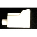 Senko 931-CAP-W 1.25mm LC Fiber Connector Dust Cap - White - Each