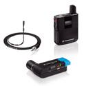 Sennheiser AVX-MKE2 SET-4-US Lavalier Set Pro: Bodypack Transmitter/ EKP Plug-on Receiver & MKE 2 Lavalier