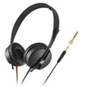 Sennheiser HD 25 LIGHT On-Ear Closed Back Headphones for Studio and Live Sound - Straight Cable - 4.9 Feet