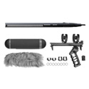 Sennheiser MKH 416 Savings Bundle Shotgun/Pistol Grip/Blimp/Hairy Windscreen
