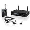 Sennheiser Wireless Headset System with ME 3 Headset Mic Bodypk Transmitter and True Diversity Receiver - A (548-572MHz)