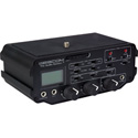 Sescom SES-DSLR-PROMIX 2 Channel XLR Audio Mixer with Preamplifiers Gain & Peak Controls AGC Disable for DSLR Cameras
