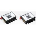 Sescom SES-FA1 2-Channel Unbalanced Line Level Audio Over Fiber Extender Kit - B-Stock (Repaired)