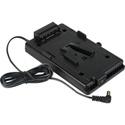 Sescom SES-VMOUNT-DC25 Blackmagic Cinema Camera V-Mount Plate w/2.5mm DC Plug