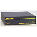 Burst SG-7 6 Black Burst Out 1 SMPTE Bars Out