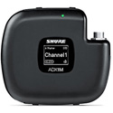 SHURE ADX1M Micro-Bodypack Transmitter - Compatible with Axient Digital Wireless Systems