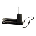 Shure BLX1288/P31-J10 Dual Channel Combo Wireless System with PGA31 & PG58 - J10 584-608 MHz