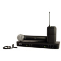 Shure BLX1288/CVL Dual Channel Lavalier & Handheld Combo Wireless System - J10 584-608 MHz