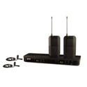 Shure BLX188/CVL-H9 Dual Channel Lavalier Wireless System - H9 Band