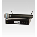 Shure BLX24R/B58 BETA58 Handheld Wireless Microphone System - H8 518-542 MHz