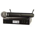 Shure BLX24R/SM58-H9 SM58 Handheld Wireless Microphone System - H9 -  (512-542 MHz)