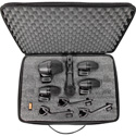 Shure PG Alta PGADRUMKIT5 5-Piece Drum Mic Kit Including Stand Adapter/Drum Moun