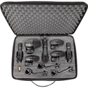 Shure PG Alta PGADRUMKIT7 7-Piece Drum Mic Kit Including  Stand Adapters/Drum Mo