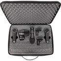 Shure PG Alta PGASTUDIOKIT4 4-Piece Studio Kit including Cables/Case/Adapters/Drum Mounts