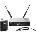 Shure QLXD14/83-G50 Digital Wireless Mic System with WL183 Lav Mic 470-534MHz