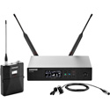 Shure QLXD14/84-H50 Digital Wireless Mic System with WL184 Lav Mic 534-598MHz